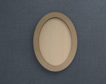 Frame Kit, Oval, Wood Frame, Picture Frame, DIY