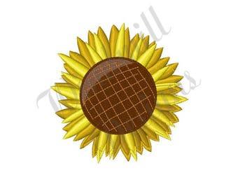Sunflower Bloom - Machine Embroidery Design