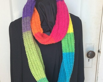Rainbows Forever Infinity Scarf