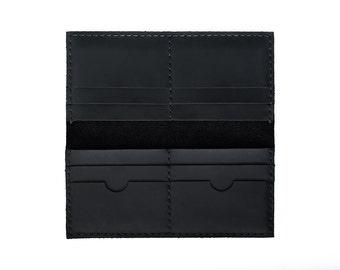 Mens wallet, leather wallet, handmade wallet, leather wallet purse, women wallet, minimalist wallet, long leather wallet, credit card wallet