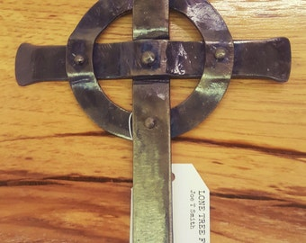 Forged Celtic Cross