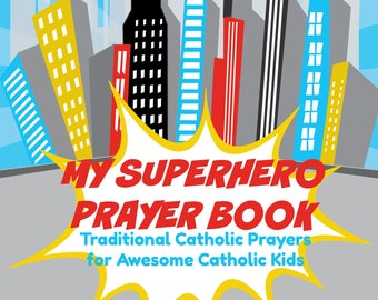 My Superhero Prayer Book *digital download*