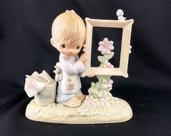 To God Be The Glory Precious Moments Figurine