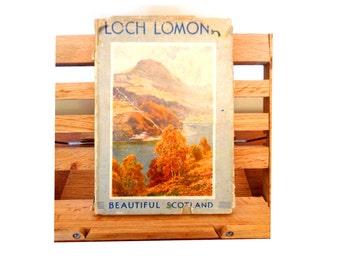Loch Lomond Loch Katrine & The Trossachs George Eyre Todd EW Haslehurst travel book color paintings 1st edition Scotland 1922 500 (X)