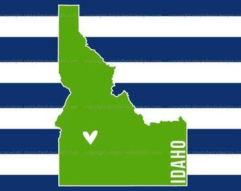 Idaho State Print