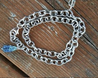 Mixed Media Stainless bracelet