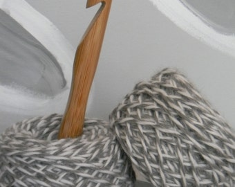 Size S ChiaoGoo Bamboo Crochet Hook 19mm
