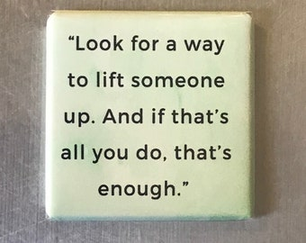 Look for a way to lift...Custom made 1.5 x 1.5  magnet
