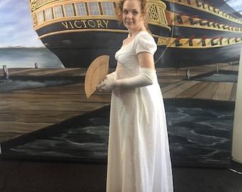 Regency Gown, Custom Jane Austen Dress