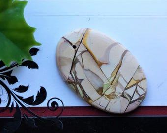 100 % Natural Brecciated mookaite jasper pendants,Oval or Shield shape,Different sizes