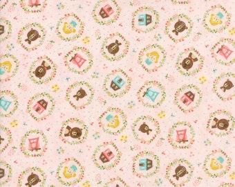 Home Sweet Home Pink Goldie's Story Yardage  SKU# 20573-12