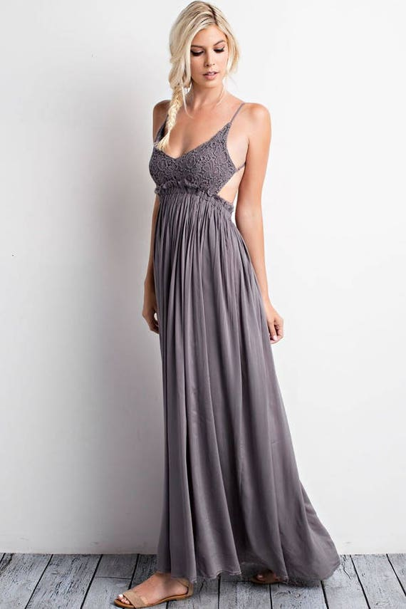 Maternity Dress For Baby Shower Midnight Maxi Long Photography