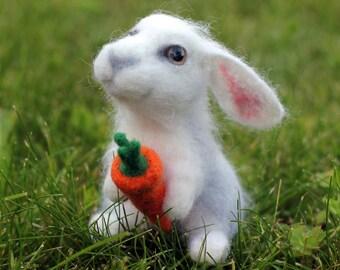 Rabbit of wool.