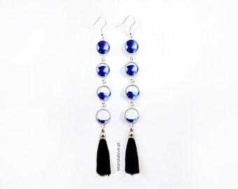 Earrings - Blue Moon