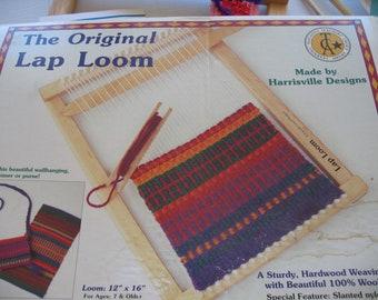 "The Original Lap Loom by Harrisville.....12"" x 16""................"