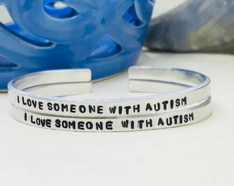 Autism awareness Autism gift, Autism acceptance, Autism mom, Autistic bracelet, Autism bracelet, I love someone with autism, Valentines gift