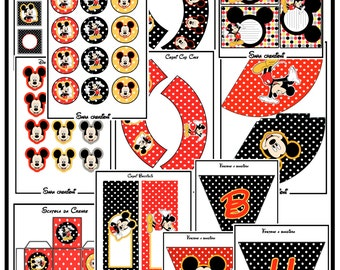 Mickey Mouse party KITS!