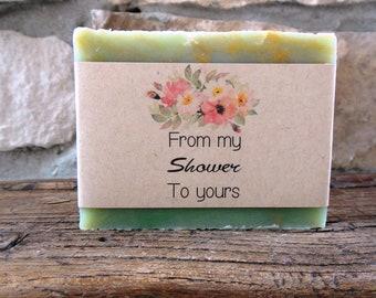 Ready To Ship, Bridal Shower Favors, Soap Favors, Baby Shower, Party Favors, Handmade Soap, Baby Shower Favor, Short Notice