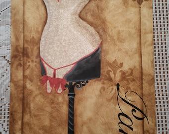 Paris Wall Hanging, Paris, Home Decor, Tracy Moreau, free shipping
