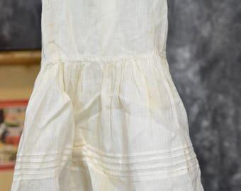 "14"" ANTIQUE doll dress"