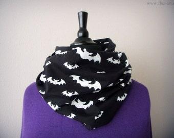 Bat loop, scarf