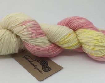"""Variegated Hand Dyed Yarn - """"Daisy Daisy"""" - 4ply/sock"""