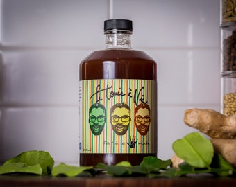 Tonic syrup concentrate to craft the best cocktail! -Tonic syrup to showcase your best Gin and other spirits