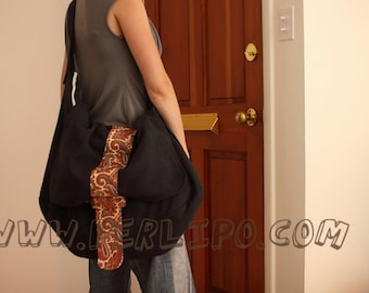 PDF Pattern - Perlipoppins Bag (small and big sizes) - Instant Download