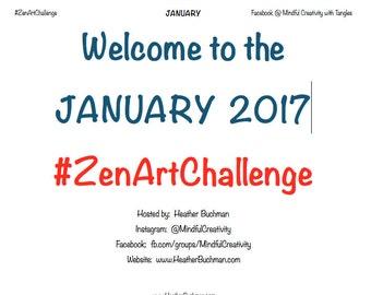 January 2017 ZenArt Challenge
