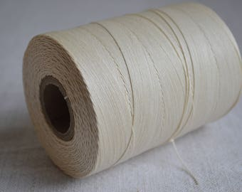 18/3 cord Barbour's Irish Linen thread, a large roll of vintage linen thread
