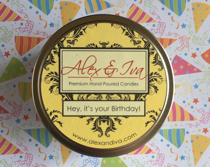 Hey, it's your birthday - 8 oz. tin