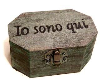 Personalized Ring Box, Wedding Ring Holder, Custom Ring Box, Wooden Ring Box, Engagement Ring Holder, Ring Bearer Box, Wedding Box