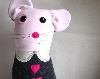 SALE - Mabel the Mouse - Eco Friendly Plushy