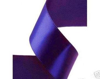 1-4 inch x 100 yds Single Face Satin Ribbon -- ROYAL