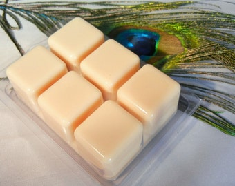 chardonnay wine scented soy wax melts 6 pack breakaway clamshell ivory