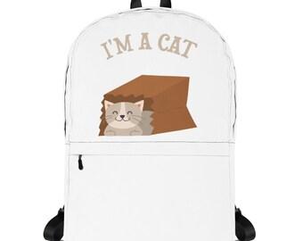 I'm a Cat Backpack