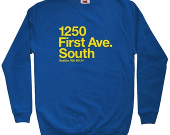 Seattle Baseball Stadium Sweatshirt - Men S M L XL 2x 3x - Crewneck, Seattle Shirt, Fan, Sports - 4 Colors