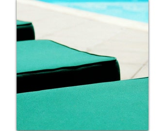 photography // mid century art // pool photograph - By the Pool, original photograph
