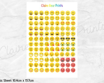 EMOJI Planner Stickers