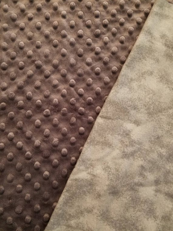 Gray, Weighted, Lap Pad/Small Blanket/Travel Weighted Blanket, 3 pounds,  14.5x22, Autism, SPD, PTSD, School Pad, Small Weighted Blanket