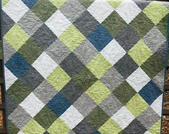 Diamond-in-the-Rough - A PDF Quilt Pattern