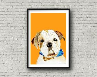Bulldog - Print