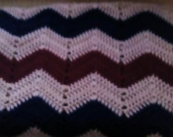 Ripple Crochet Afghan