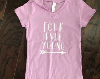 Four Ever Young girls shirt