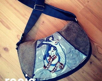 Swoon Patterns: Rosie Crossbody Bag - PDF Bag Purse Crossbody Bag Sewing Pattern