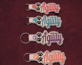 Agility Key Fobs You Pick Color