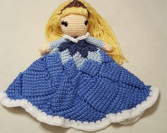 Sleeping Beauty (Aurora)  Blanket Buddy / Lovey / Security Blanket
