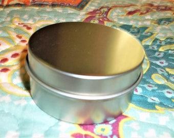 2 Inch Metal Craft/Storage Tins - Set Of 3