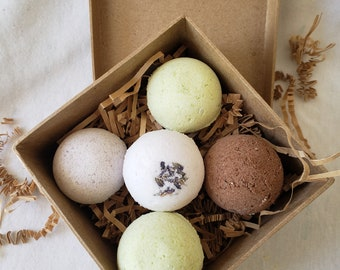 5 - 1 OZ Aromatherapy Bath Bomb Gift Set! Great gift for Mother's Day, birthday or anniversary