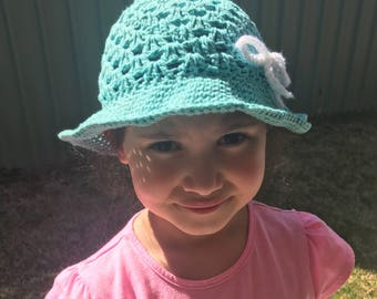 Childs Cotton Sun Hat